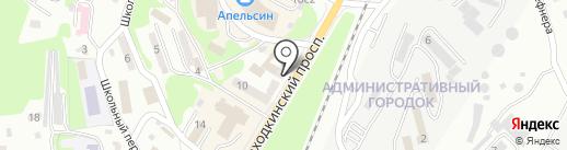 Отдел вневедомственной охраны по г. Находке на карте Находки