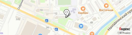 Восточный экспресс банк, ПАО на карте Находки