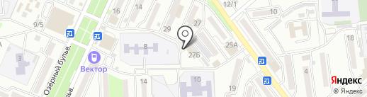 Азимут-А на карте Находки