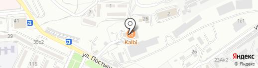 Вимана на карте Находки