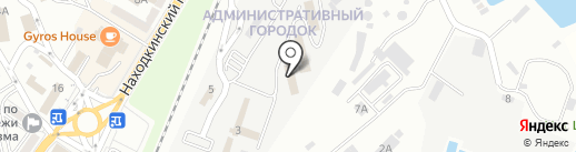 Чистый офис на карте Находки