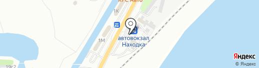 Магазин свежей выпечки на карте Находки