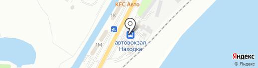 Автовокзал на карте Находки
