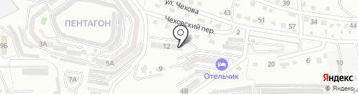 На Чехова на карте Находки