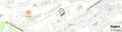 Ориент-АвтоЛюкс на карте Находки