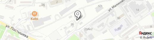 Рекламная компания на карте Находки