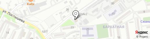 Мира на карте Находки