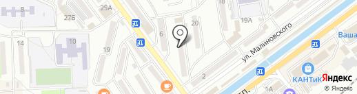 Электрон-Дальсервис на карте Находки