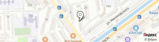 Нотариус Сидоренко Ю.Г. на карте Находки