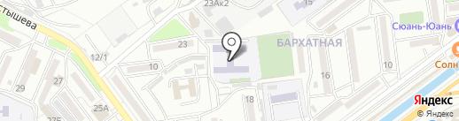 Средняя общеобразовательная школа №5 на карте Находки