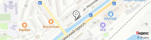 Магазин овощей на карте Находки