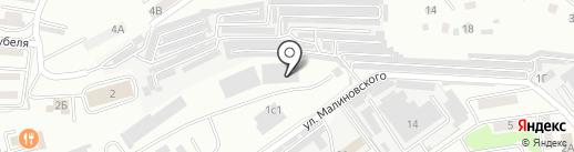 Атис на карте Находки