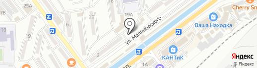 Ремонтная мастерская на карте Находки