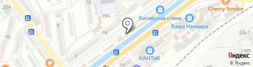 Батарейка на карте Находки