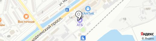 Паркет на карте Находки