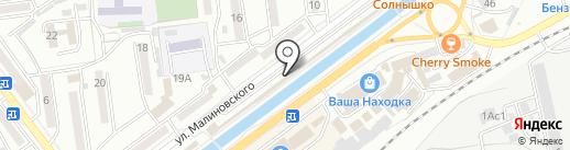 Наташа на карте Находки