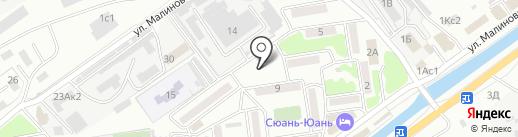 Кербер на карте Находки