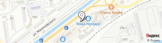Зодиак на карте Находки