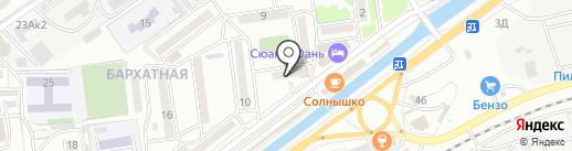 Форсаж на карте Находки
