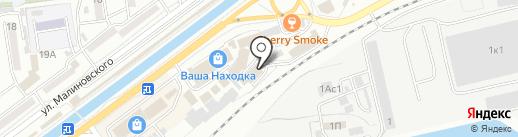 Магазин сладостей на карте Находки