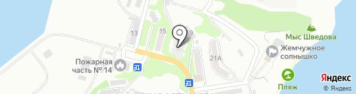 Алена на карте Находки