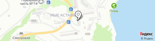 Банкомат, АКБ Приморье на карте Находки
