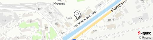 Нотариус Литвинова О.А. на карте Находки