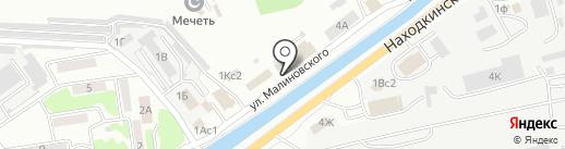 Фобия на карте Находки