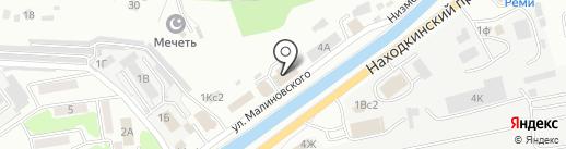 Balisa Spa на карте Находки