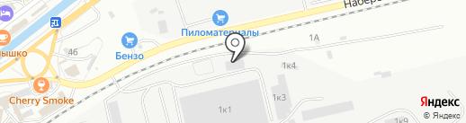 Лесной терминал на карте Находки