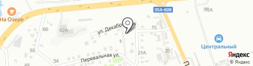 Страга на карте Находки