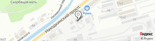 AutoDynamix на карте Находки