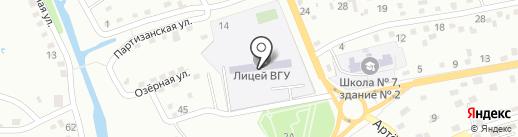 ВГУЭС на карте Находки