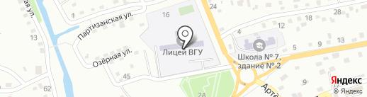Владивостокский государственный университет экономики и сервиса на карте Находки