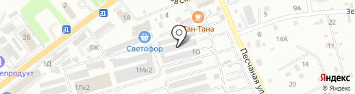 Магазин детских товаров на карте Находки