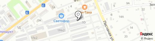 Милана Мебель Находка на карте Находки