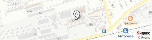Магазин автотоваров на карте Находки