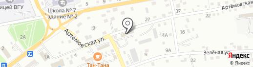 Ромашка на карте Находки
