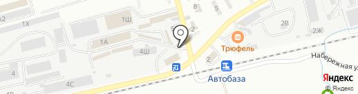 Артпостель на карте Находки