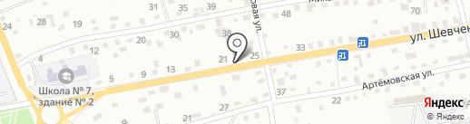 Контора адвокатов №41 на карте Находки