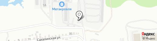 Комплекс на карте Находки
