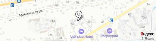 Алаид на карте Находки