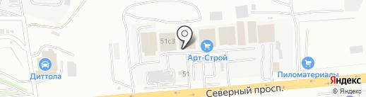 Рио на карте Находки
