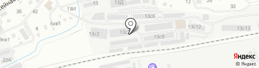 Скат на карте Находки