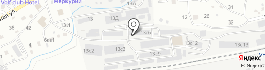Белореченское на карте Находки