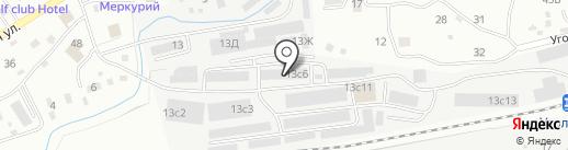 ВСТК Приморье на карте Находки