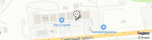 АРТ-Строй на карте Находки