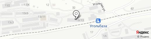 Алтан на карте Находки