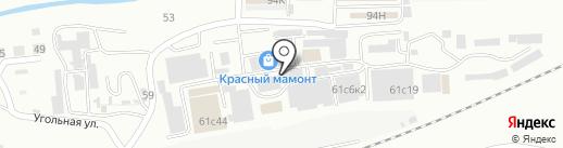 Атлас на карте Находки