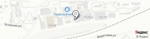 Пионер на карте Находки